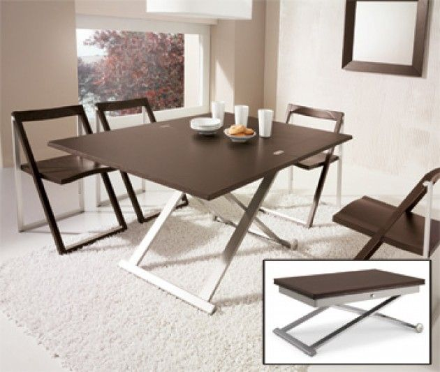 Flexy Coffee Dining Table Calligaris Available In Wenge