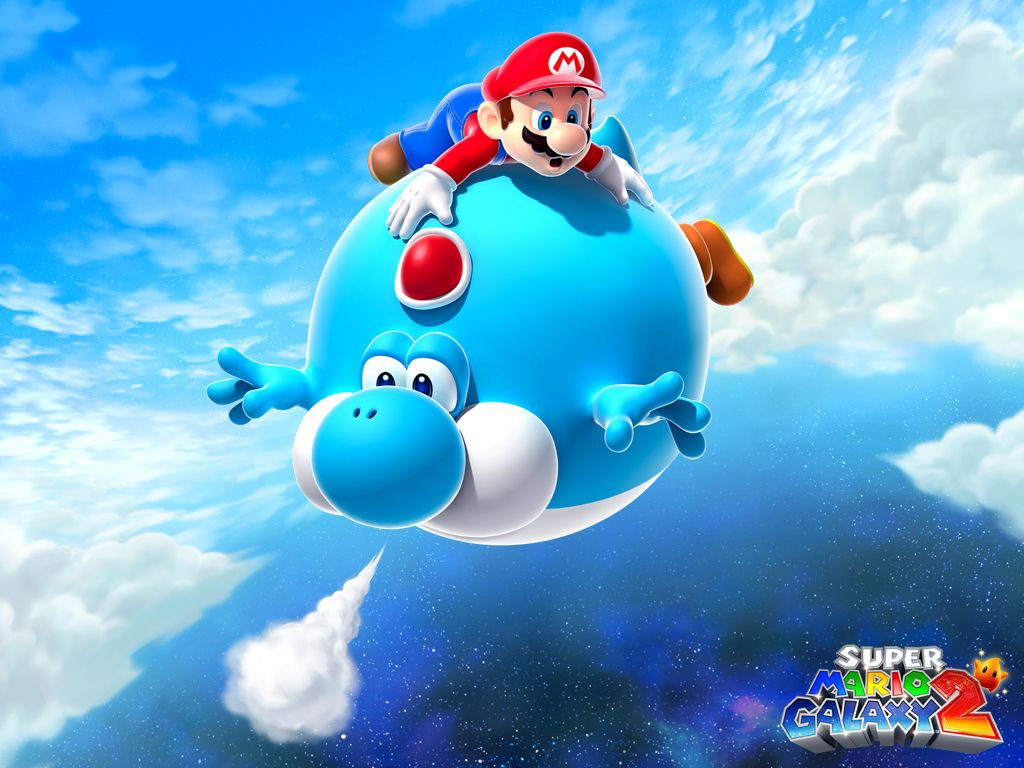 Yoshi Mario Galaxy 2 Yoshi Wallpaper 12752808 Fanpop Fanclubs Super Mario Mario Super Mario Games