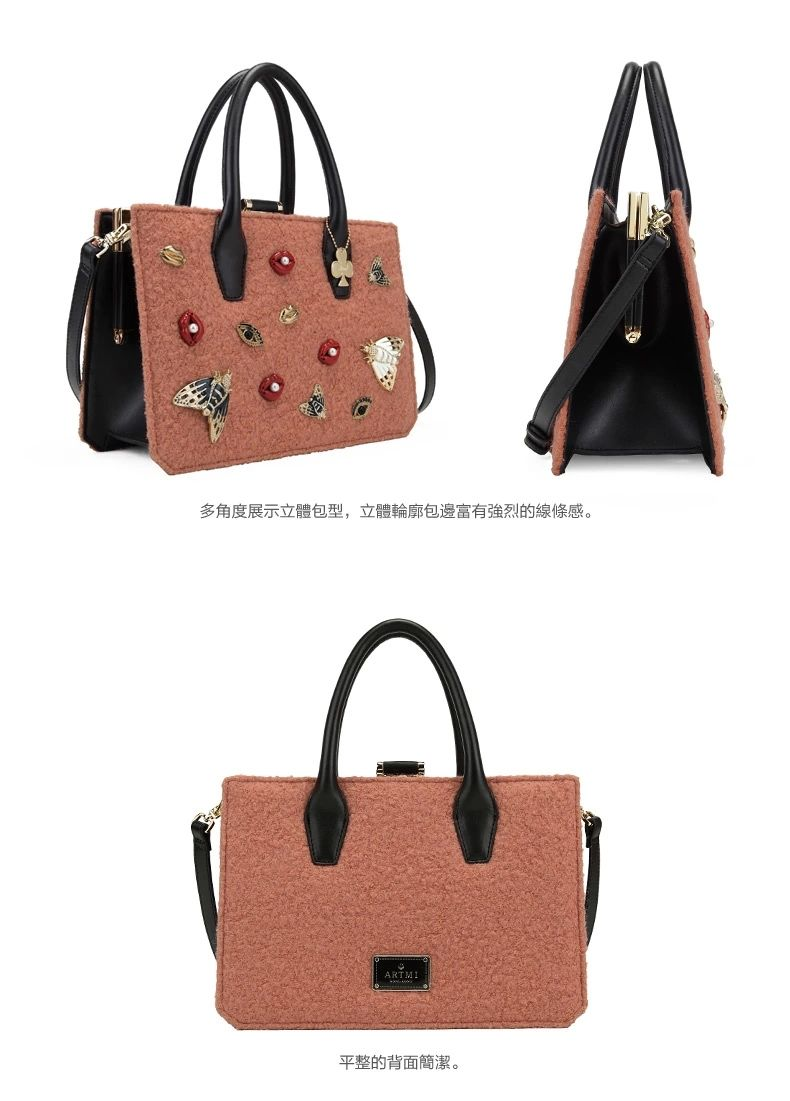 Vintage Printed Handbags China Supplier Women Bags Woman