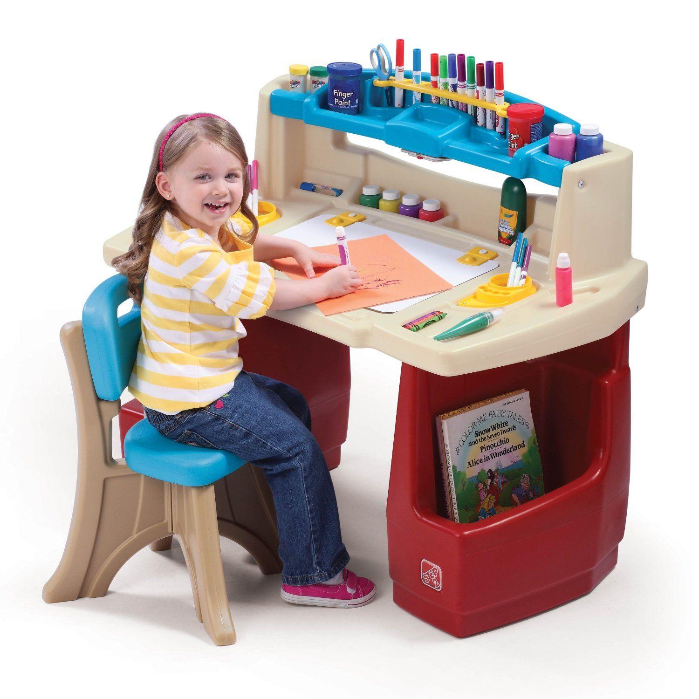 Homeschooling Desk Step2 Deluxe Art Master Desk Kids Art Table