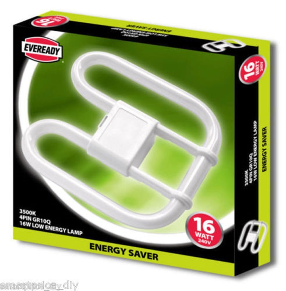 Details About Genuine Eveready 2d 2 Pin Or 4 Pin Energy Saver Low Energy Bulb 16w 28w 38w 55w Save Energy Energy Bulbs