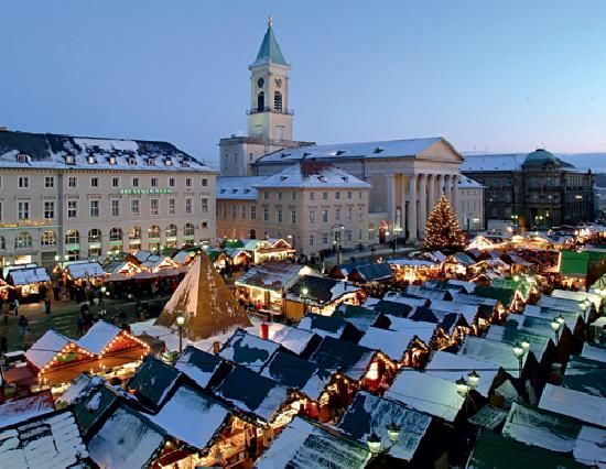Christmas Market in Karlsruhe, Germany Cool places to
