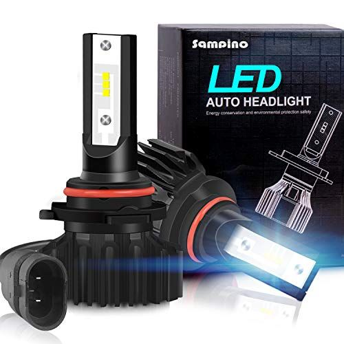 Sampino 9005 H10 Hb3 Led Headlight Bulbs All In One Conversion Kit