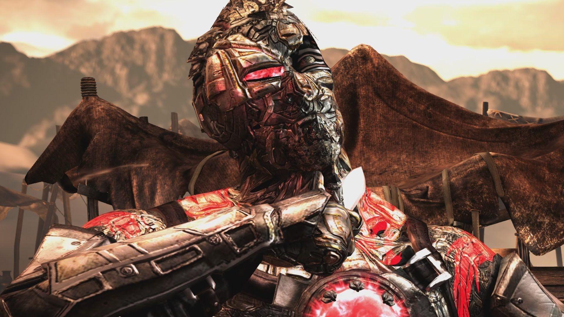 Mortal Kombat X Cybernetic Kano Costume Skin Pc Mod 1080p