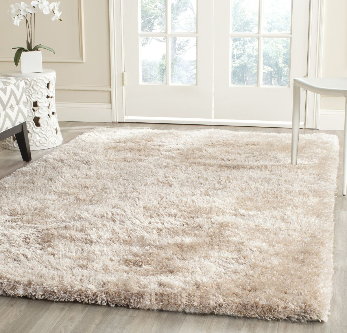 Beautiful Creamy Colors In This Shag Safavieh Martha Stewart Shag Msr0562c Rug Plushrugs Com With Images Shag Area Rug Area Rugs Rugs