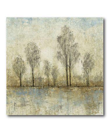 Look at this #zulilyfind! Natural Autumn II Wrapped Canvas #zulilyfinds