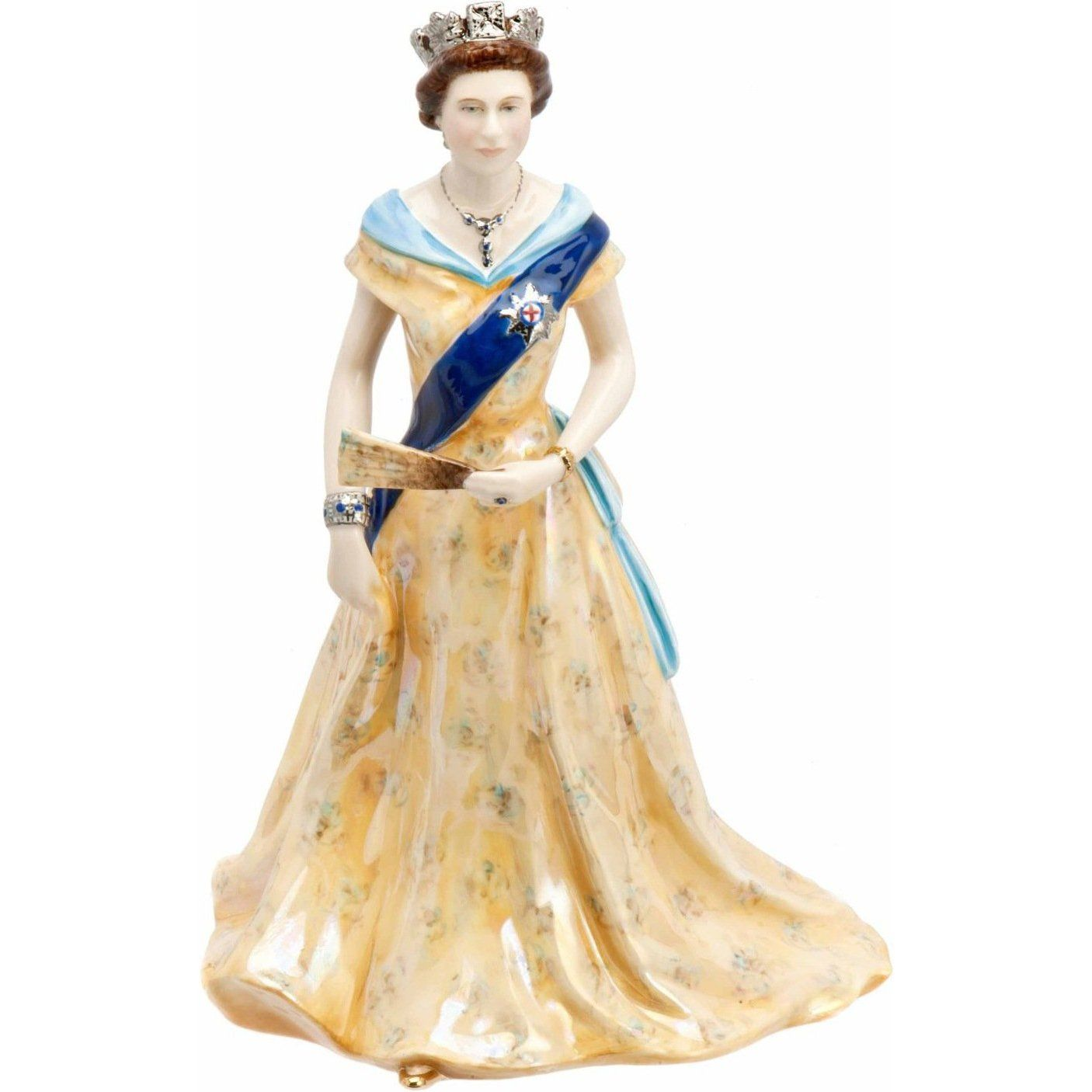 figurine queen elisabeth