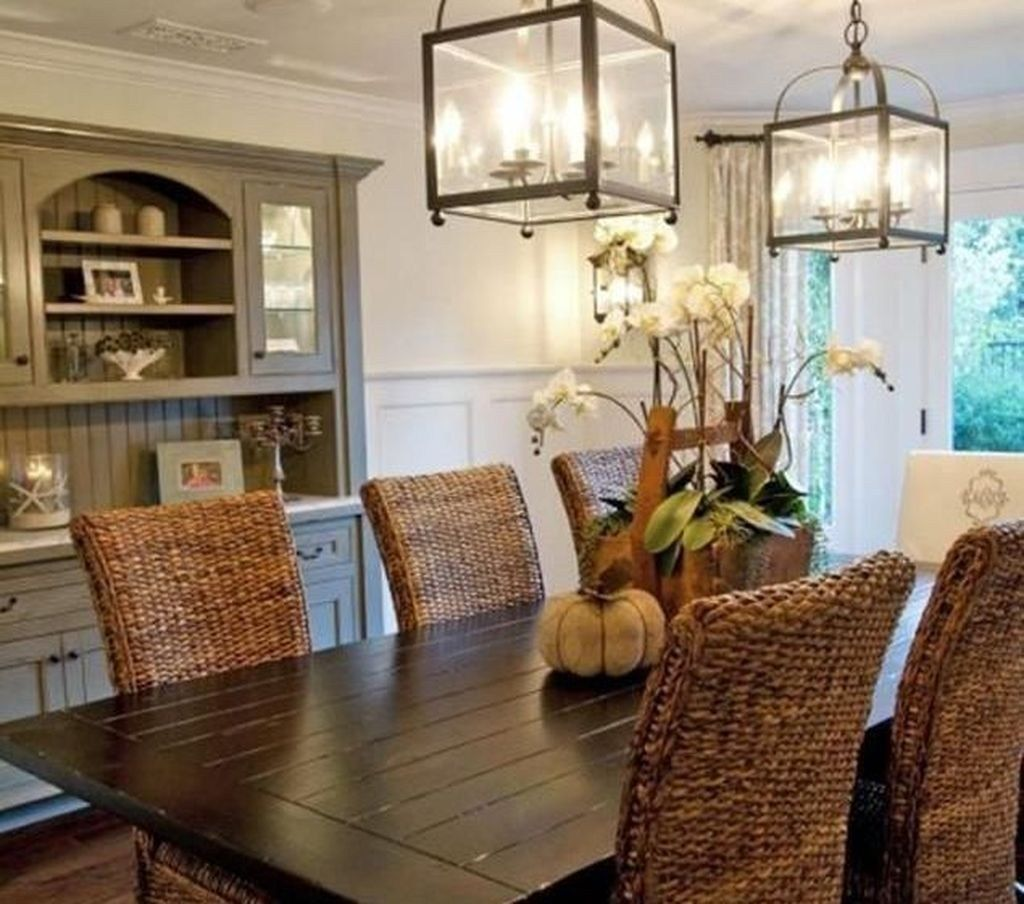 Casual Dining Room Decor Ideas: Magnificient Beach Dining Room Decorating Themes Ideas 22