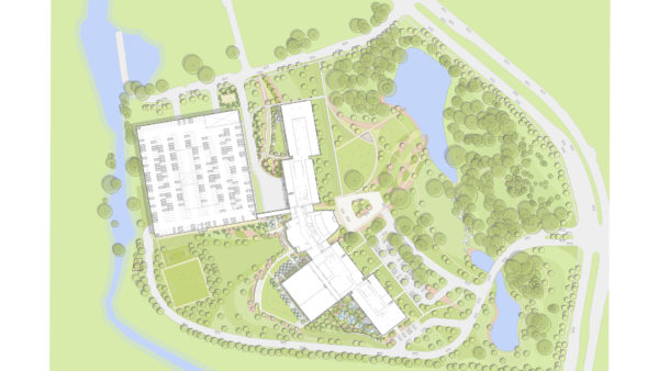 Pioneer Natural Resources Campus Ojb Landscape Architecture Campus Natural Resources Campus Design