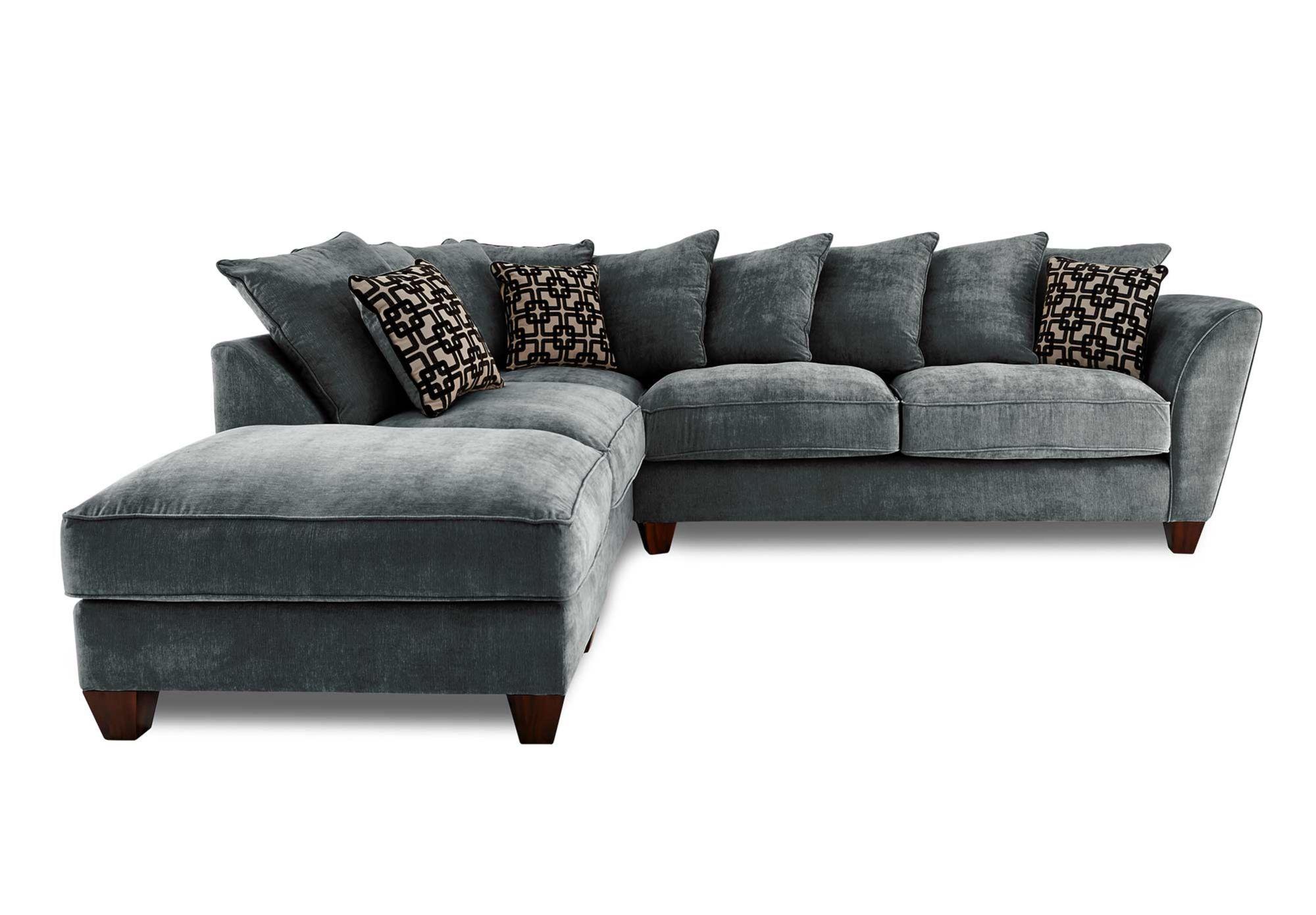 LHF Scatter Back Corner Sofa Tangier Gorgeous Living Room