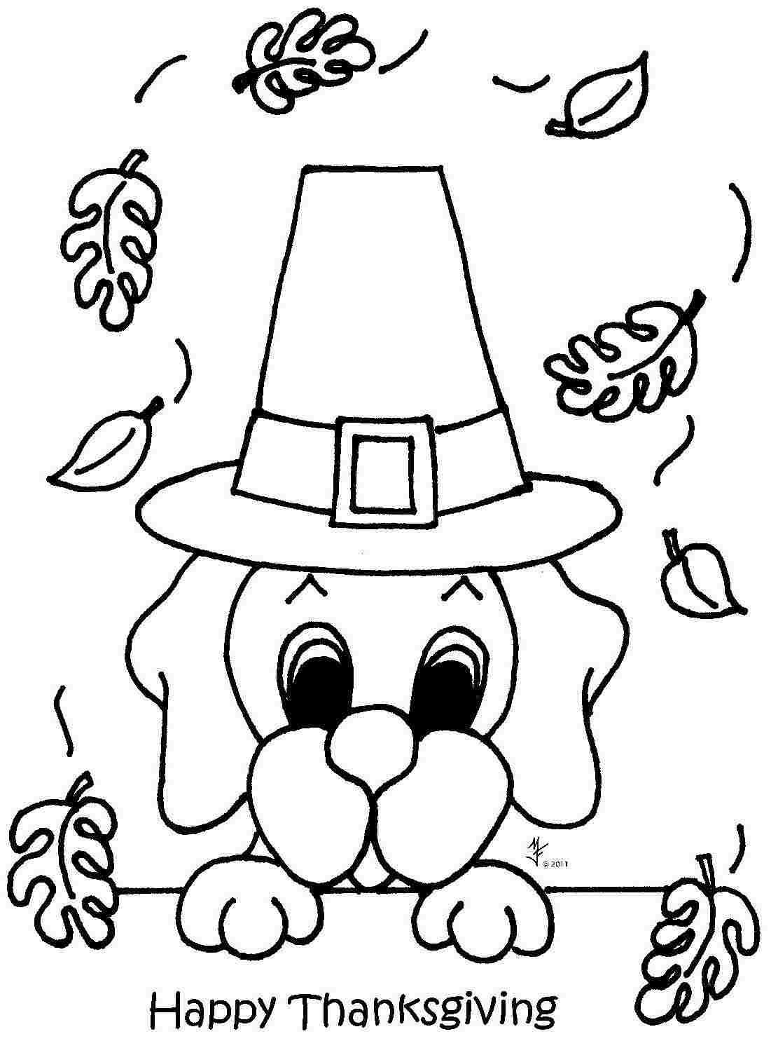 Kindergarten Thanksgiving Coloring Pages Inside Free | Kids ...