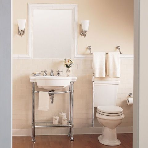 Beautiful American Standard, Retrospect Console Table Legs In Polished Chrome, At The  Home Depot   Tablet