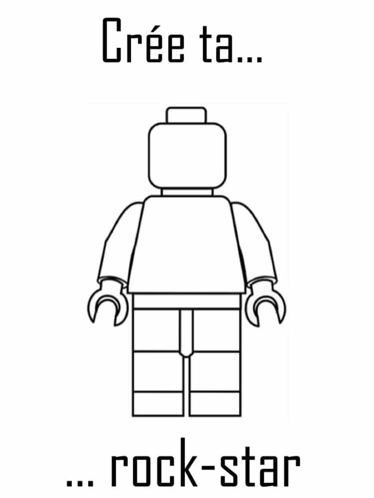 Coloriage Lego 20 Dessins A Imprimer Gratuitement Coloriage Lego Lego Dessin Lego