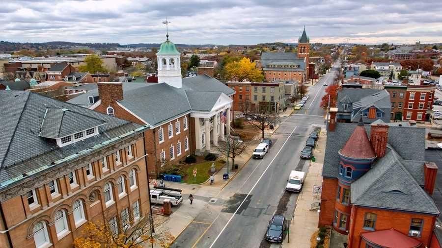 Community service mission trip to York, Pennsylvania