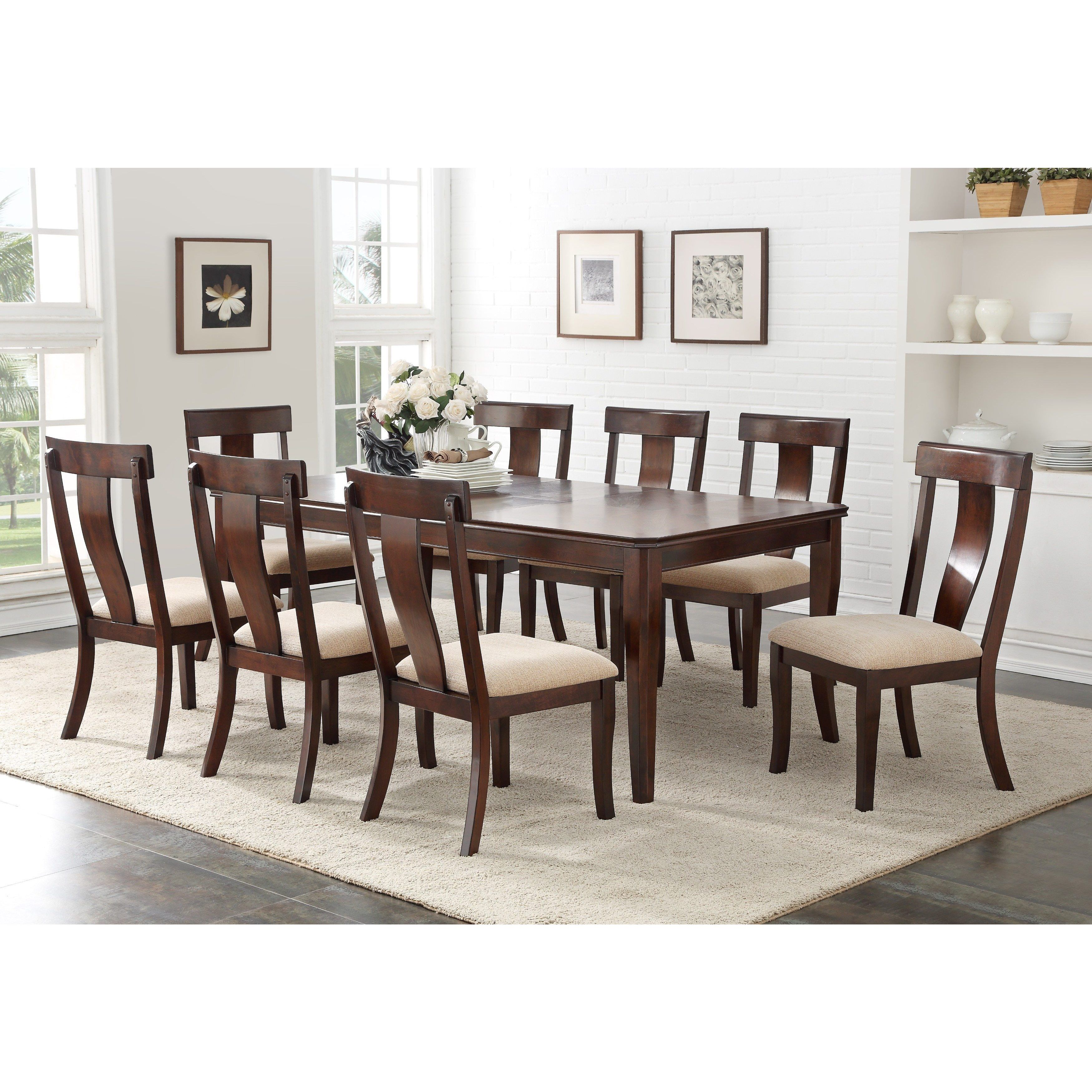 K And B Furniture Co Inc Cherry Wood Dinette Dining Room Side