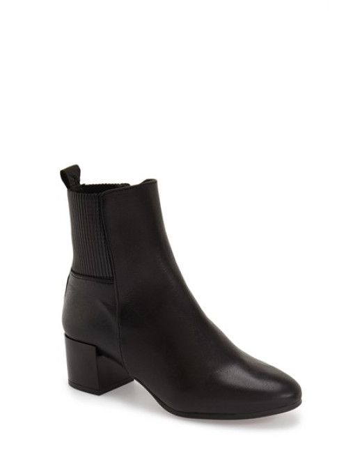 TOPSHOP | Black 'marbles' Ankle Boot | Lyst