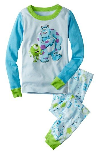 Hanna Andersson Monsters Inc Two Piece Organic Cotton