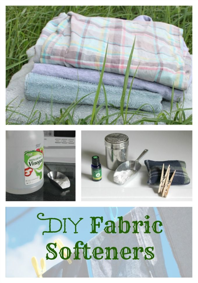 Looking to avoid chemical-laden dryer sheets and fabric softeners? Try these DIY ideas for you family's laundry! #naturalliving