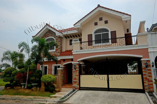 Bulacan real estate contractor house design philippines for Philippine house exterior design