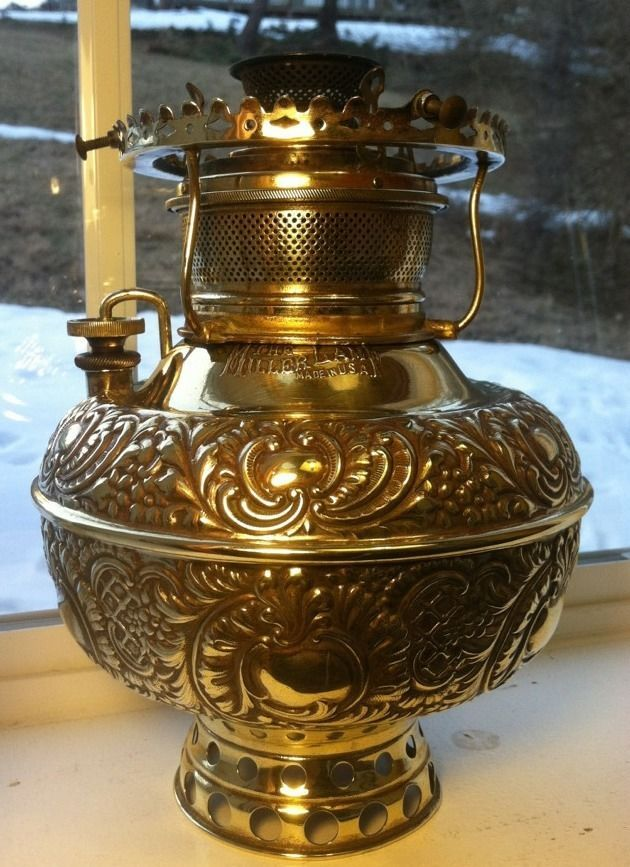 1870s Argand Style Oil Lamp Burner The Brilliant