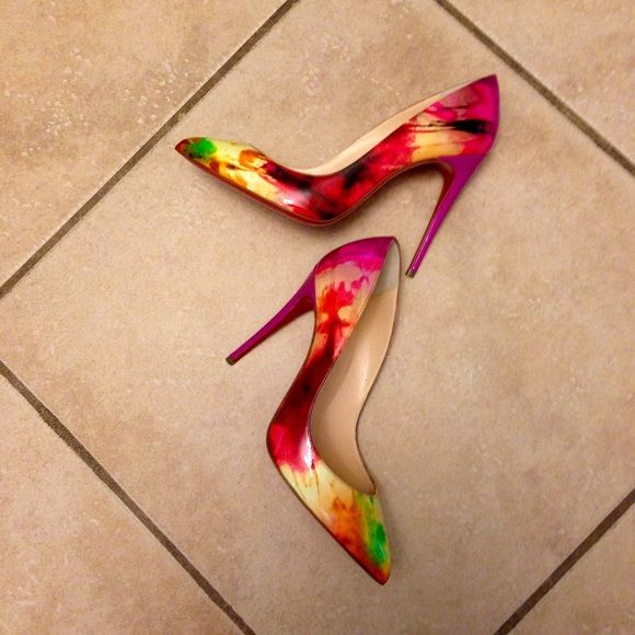 christian louboutin pigalle follies tie and dye