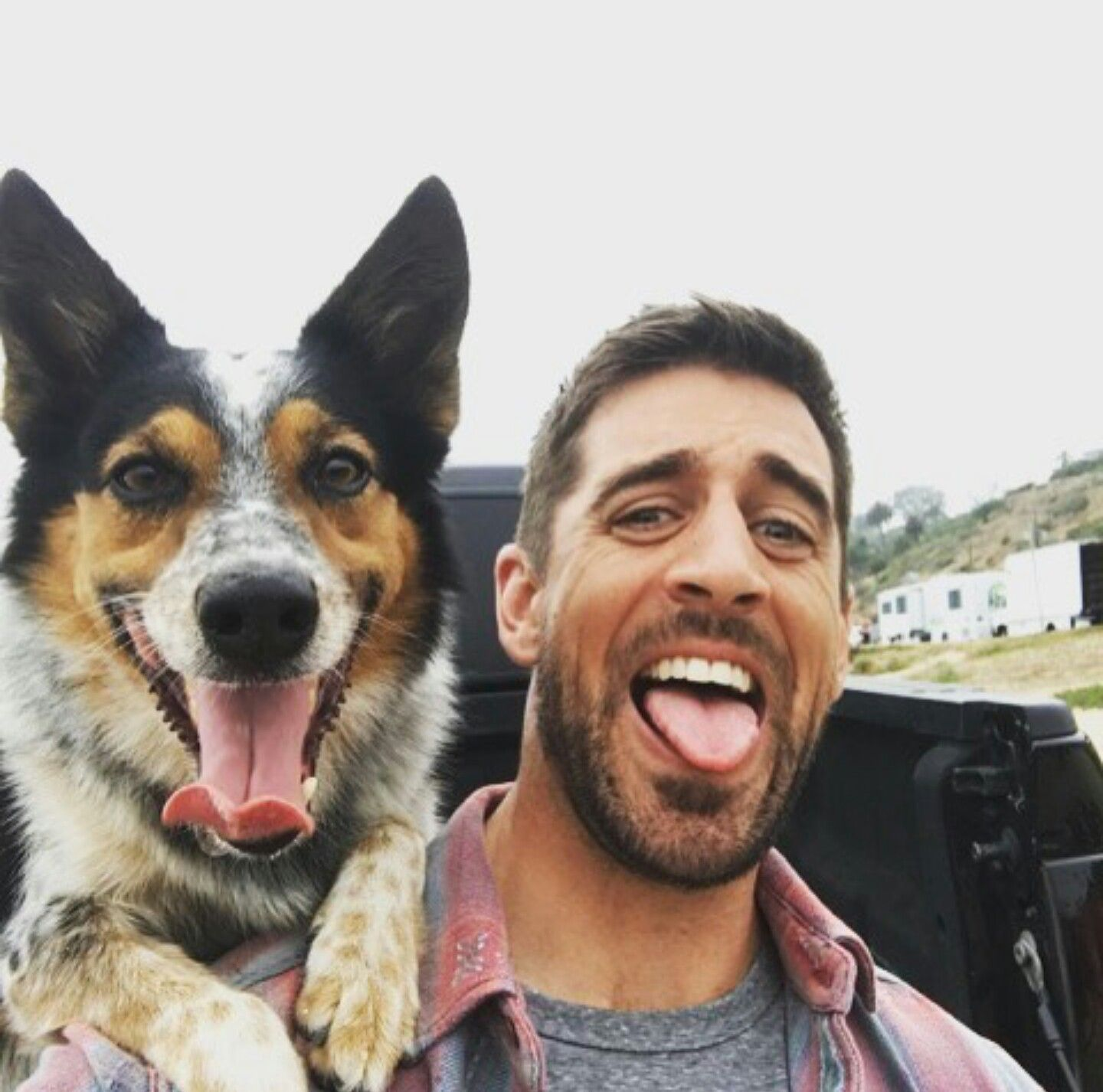 Aaron Rodgers With His State Farm Commercial Costar Aaron Rodgers Rodgers Green Bay Go Packers
