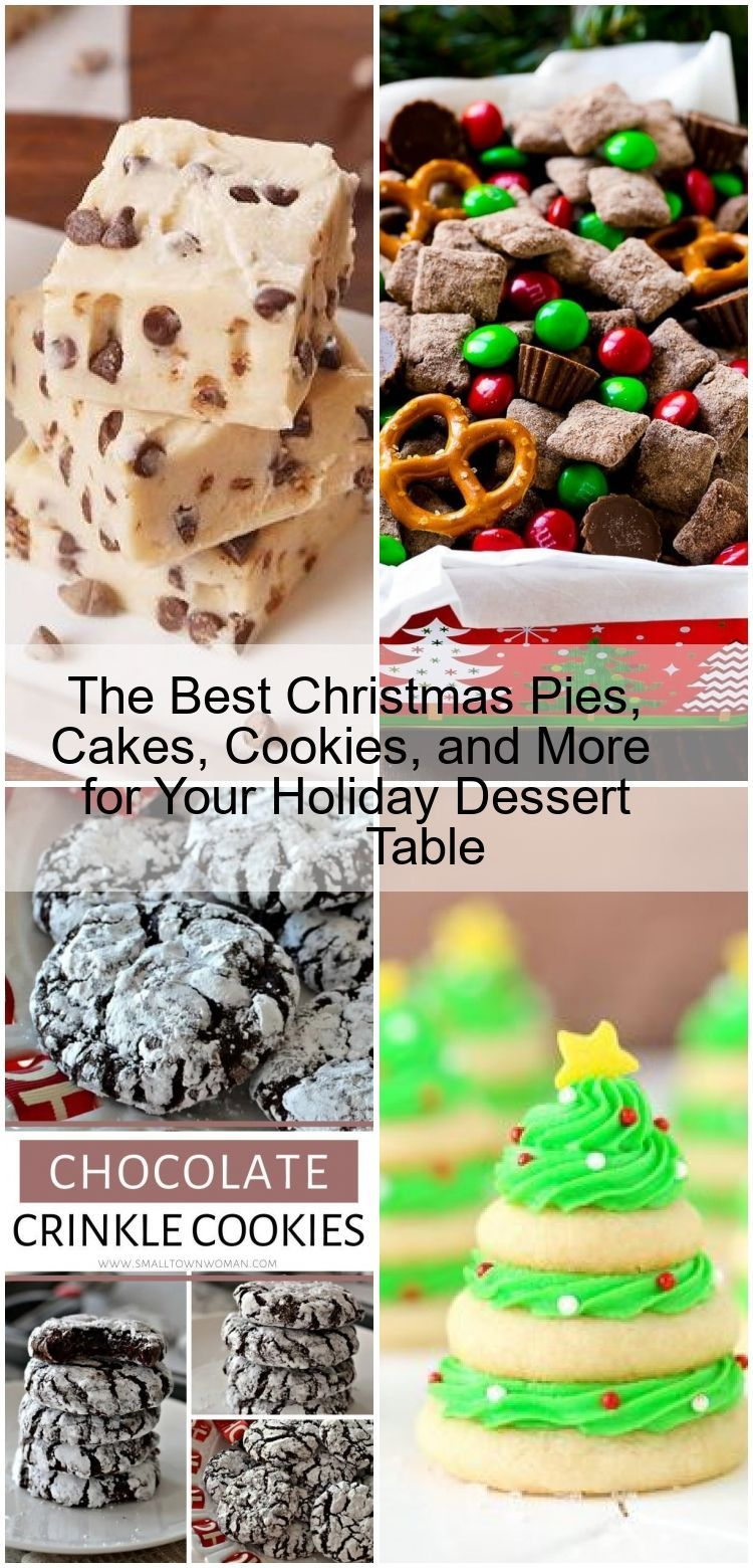 The Best Christmas Pies, Cakes, Cookies, and More for Your Holiday Dessert Table ,  - Marveille Bou
