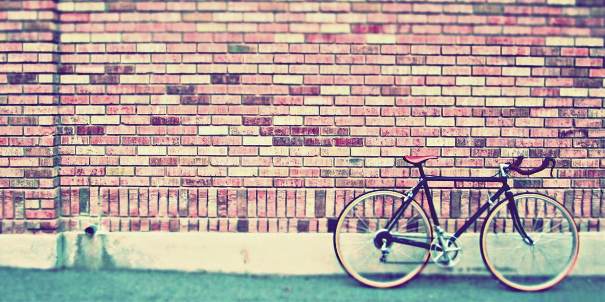 Vintage Bike Twitter Cover Background