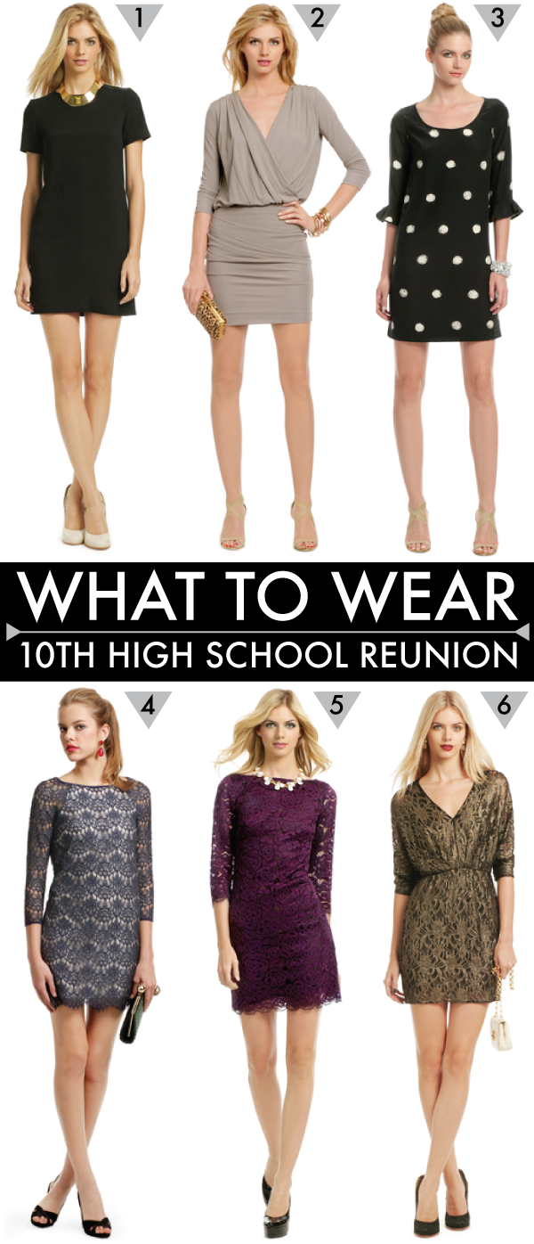 Dresses for Reunion