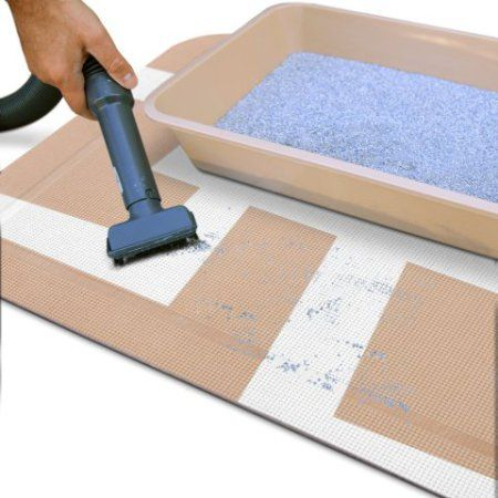 5 Best Cat Litter Mats That Prevent The Spread Of Cat Litter : litter box on carpet - Aboutintivar.Com