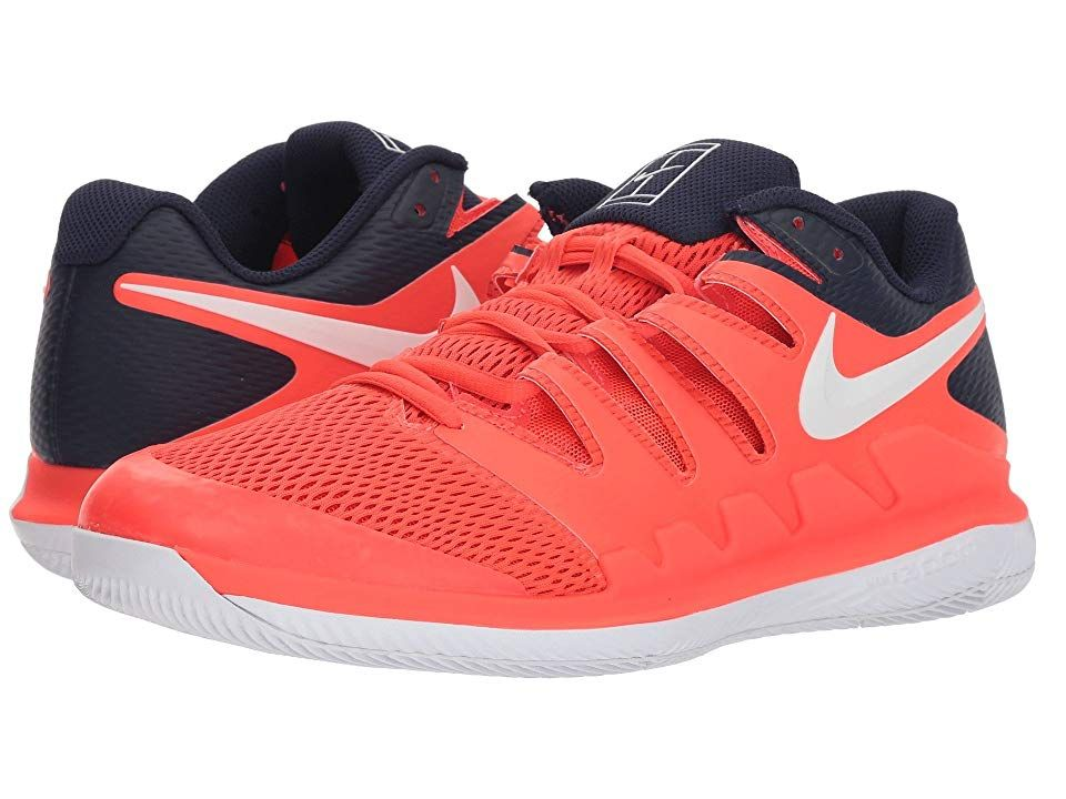 Nike Air Zoom Vapor X Bright Crimson White Blackened Blue Men S Tennis Shoes Bring Speed And Agility To The Match With The Air Z Nike Air Zoom Nike Nike Air