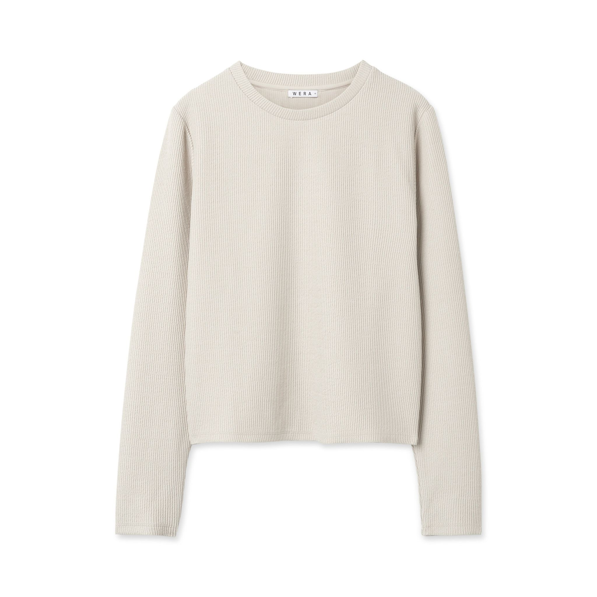 Tröja ribbad, offwhite | Tröjor, Mode och Hoodie