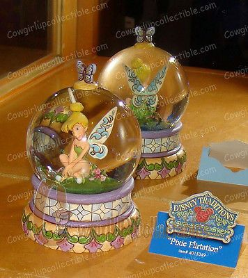 4015349 - Pixie Flirtation (Disney Traditions) Tinker Bell 65mm WG (Jim Shore)