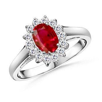 Angara Petal Carved Shank Blue Sapphire and Diamond Vintage Ring s5qet8m