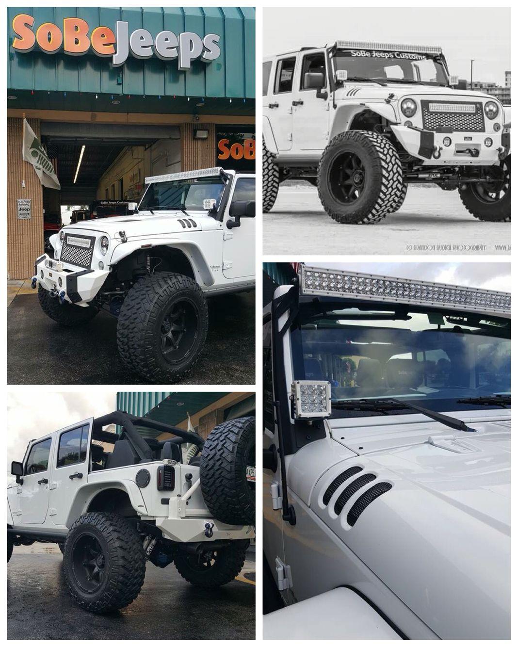 Pin By Sobe Jeeps On Sobe Jeeps Custom Jeep Wranglers Custom Jeep Wrangler Custom Jeep
