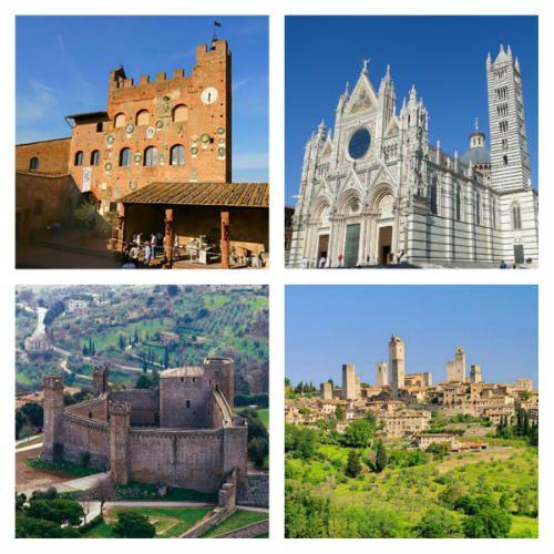 Una gita a Siena e dintorni: parte 2. Attività ed esercizi di italiano L2/LS.