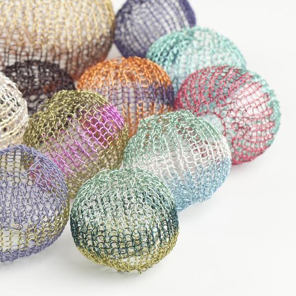 Round Ball Beads - Partial Crochet pattern   Bisutería, Patrones y Cosas