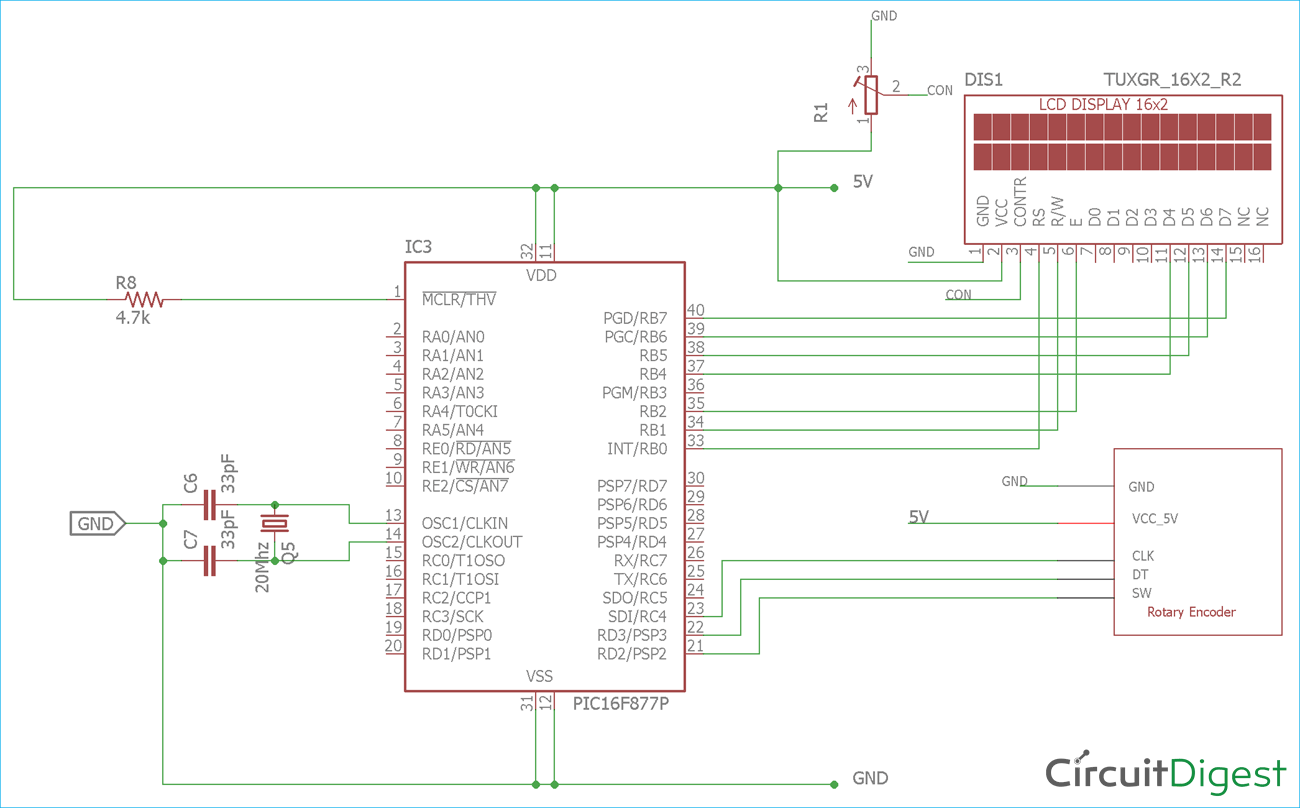 pin on electronic circuit diagrams rotary encoder circuit diagram bu0836a 12 bit joystick controller