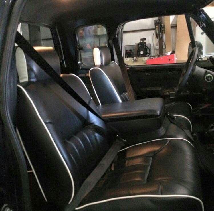 Clean Black W250 Interior First Gen Dodge 1st Gen Cummins First Gen Cummins