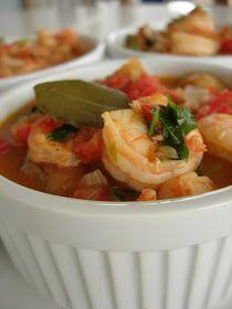 Almost Turkish Recipes: Shrimp Stew (Karides Güveç)