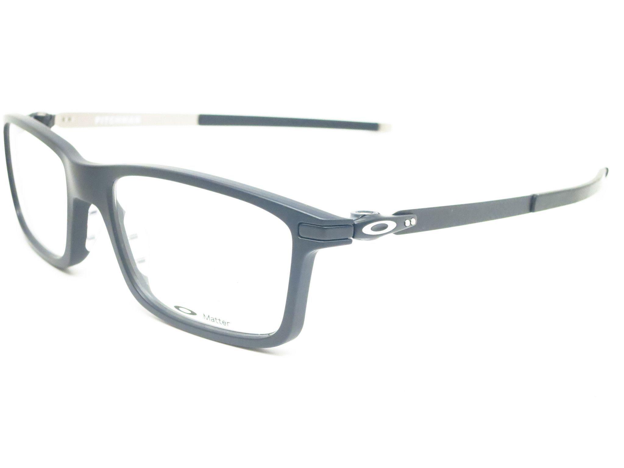 97f3ae44b2 Oakley Pitchman OX8050-0155 Satin Black Eyeglasses