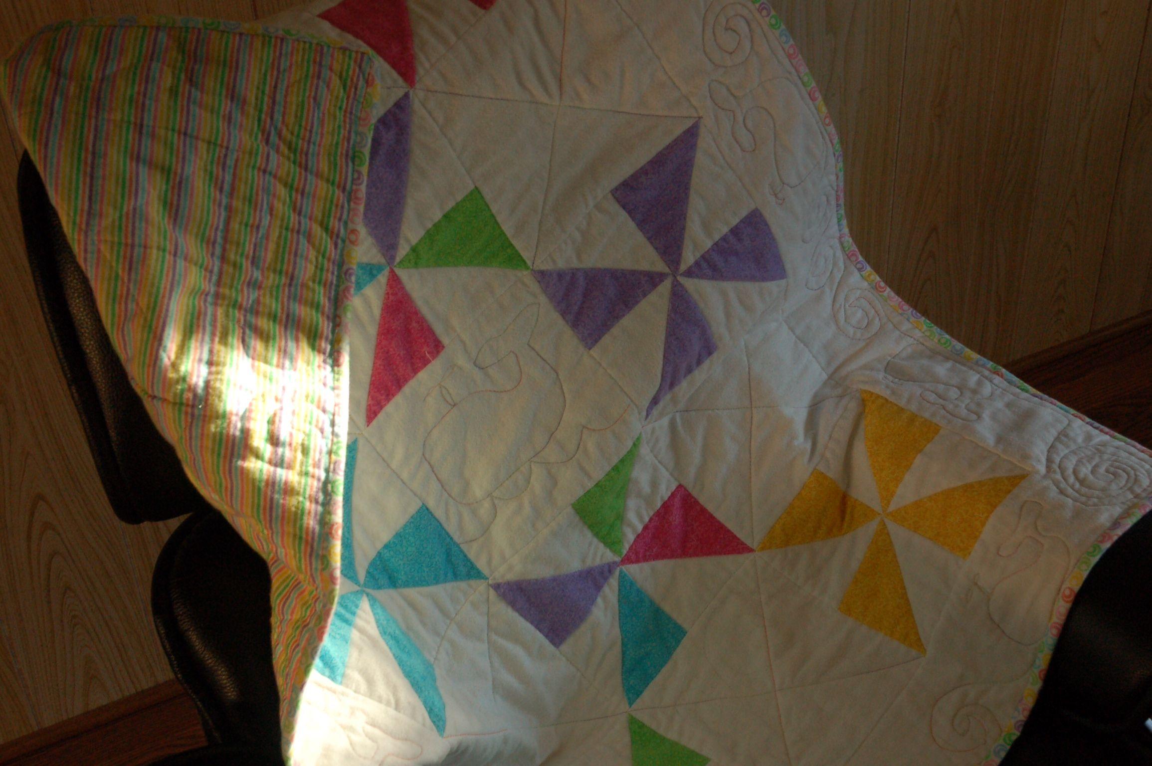 Pinwheels by Mary Kelly