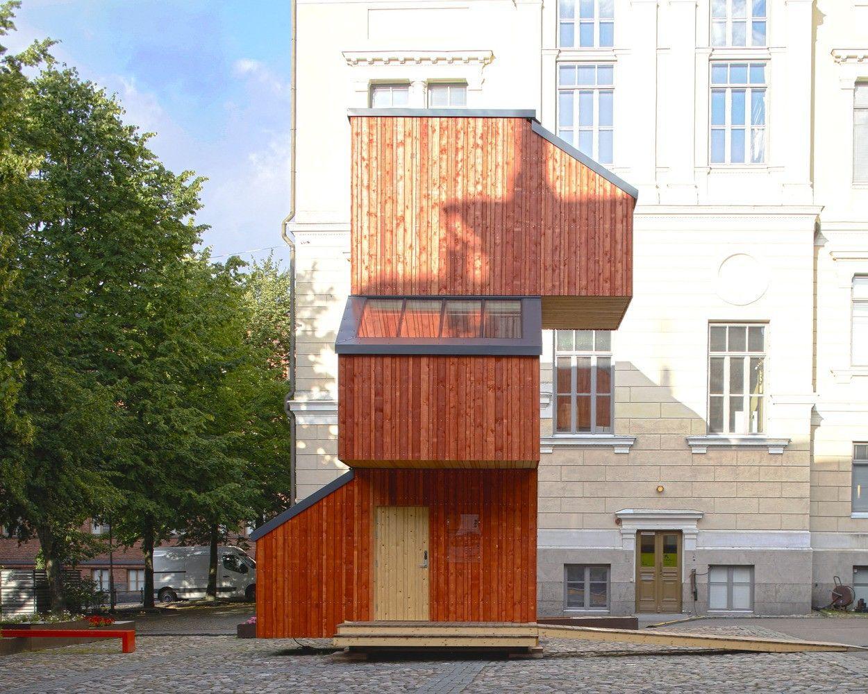 Una casa di legno che si può costruire in meno di 24h e ...