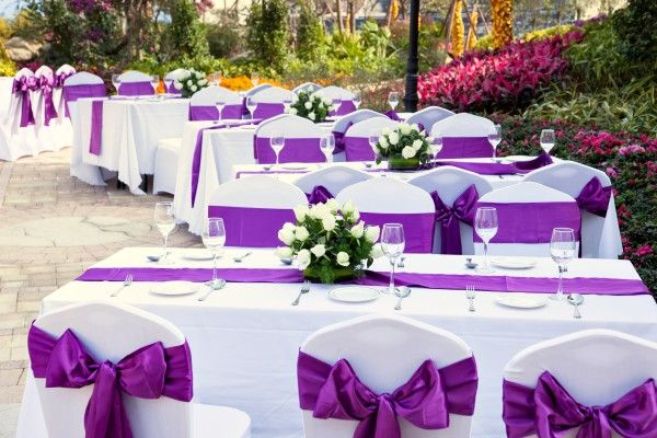 The colors of your wedding