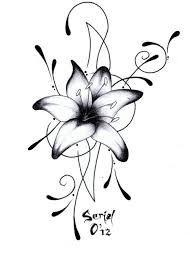 Dessin De Lotus Recherche Google Dessin De Tatouage Pinterest