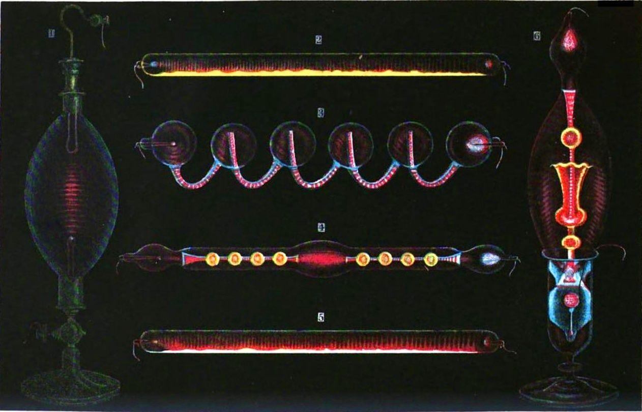 Geissler tubes - Geissler tube - Wikipedia - plasma | Pinterest