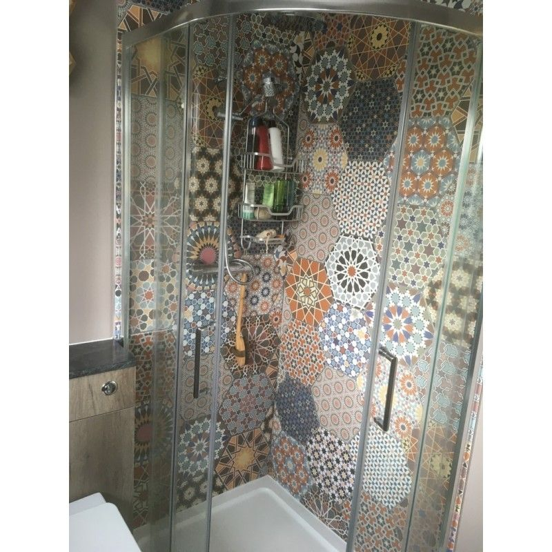 andalucia hexagon patterned porcelain wall and floor tiles on wall tile id=86164