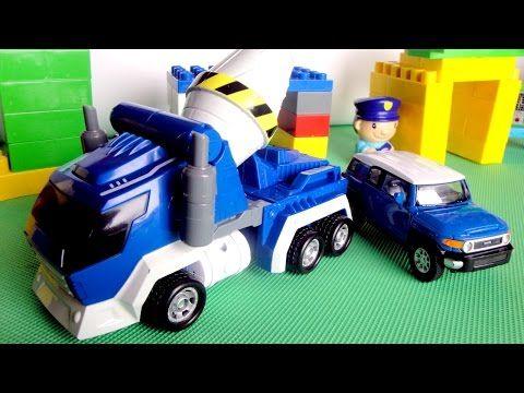 Машины и Роботы. Видео для детей. Робот - Трансформер ...