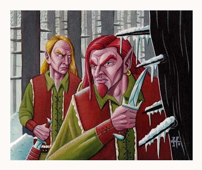 Fyndhorn Elves - by Justin Hampton | Featured Artist on the Fantasy Gallery