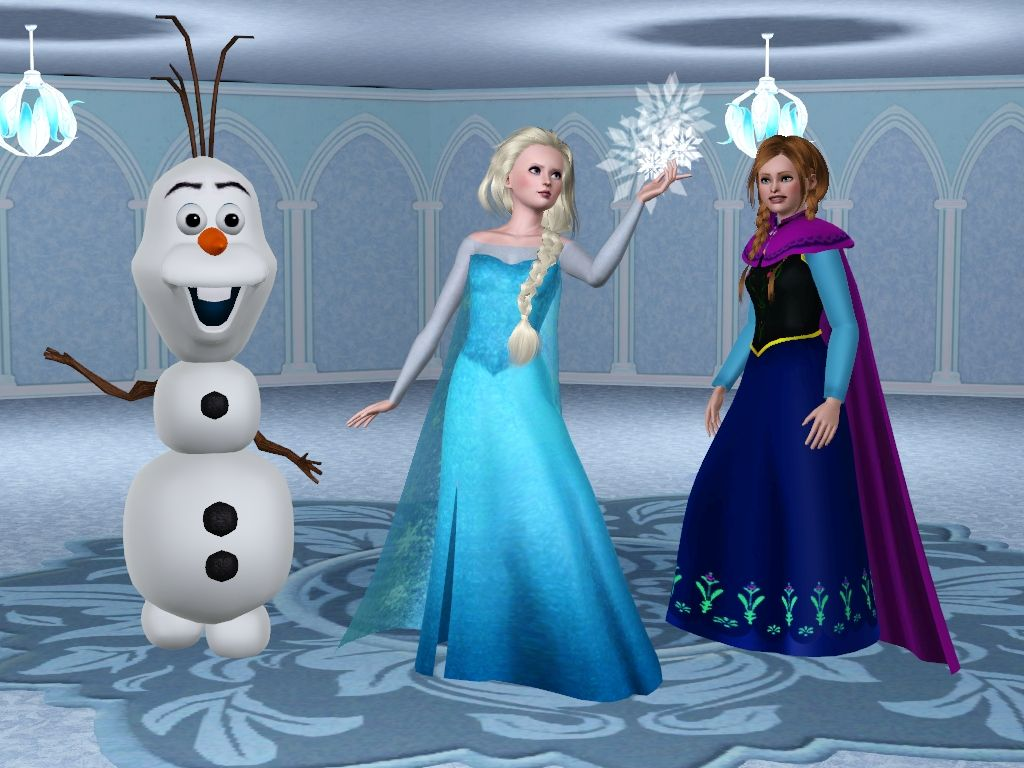 5fa94c1100 My Sims 3 Blog  Disney s Frozen Characters